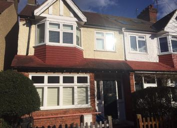 Thumbnail 3 bed terraced house to rent in Oxford Avenue, Wimbledon Chase, London