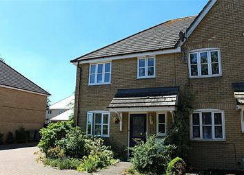 Thumbnail 3 bed end terrace house for sale in Tates Field, Caxton, Cambridge
