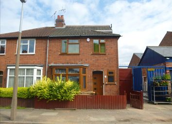 Thumbnail 5 bed semi-detached house for sale in Rowsley Street, Leicester