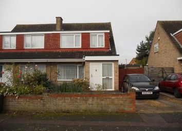 Thumbnail 3 bedroom semi-detached house to rent in Harrington Drive, Bedford