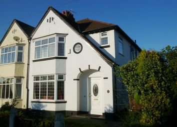 Thumbnail 3 bed semi-detached house to rent in Childwall Priory Road, Childwall, Liverpool