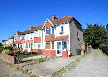 Thumbnail 3 bed semi-detached house to rent in Manor Hall Road, Southwick, Brighton