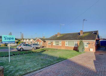 Thumbnail 2 bedroom semi-detached bungalow for sale in Berry Way, Newton Longville, Milton Keynes