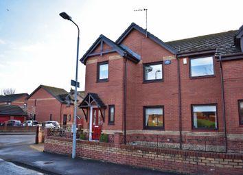 Thumbnail 3 bedroom semi-detached house for sale in 4 Castlegreen Crescent, Dumbarton