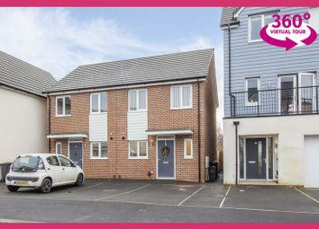 Thumbnail 2 bed semi-detached house for sale in Spencer Way, Newport