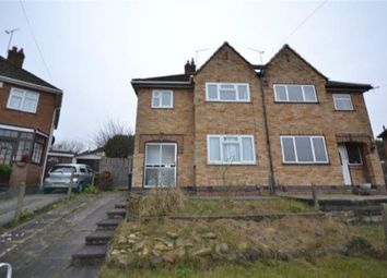 Thumbnail 3 bedroom semi-detached house to rent in Sidmouth Avenue, Evington, Leicester