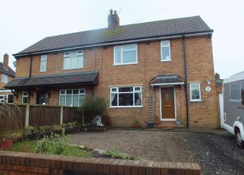 Thumbnail 3 bed semi-detached house for sale in Chester Road, Audley, Stoke-On-Trent