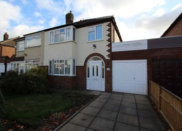 Thumbnail 3 bed semi-detached house to rent in Fairview Road, Wednesfield, Wolverhampton