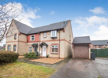 Thumbnail 3 bed end terrace house to rent in Chessington Close, Bedford