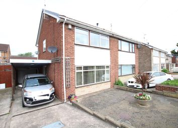 Thumbnail 2 bed semi-detached house for sale in Waverley Lane, Burton-On-Trent