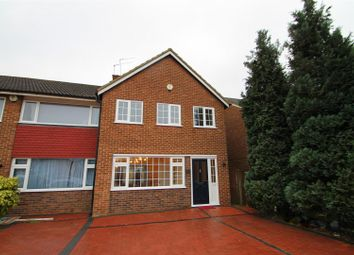 Thumbnail 3 bedroom end terrace house for sale in Beaumont Drive, Northfleet, Gravesend