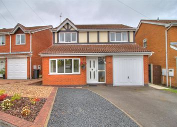 Thumbnail 4 bed detached house for sale in Claremont Drive, Ravenstone, Coalville