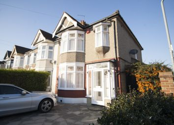 Thumbnail 3 bed end terrace house to rent in Dawlish Drive, Ilford, Essex