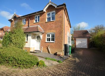 Thumbnail 3 bed semi-detached house to rent in Heron Forstal Avenue, Hawkinge, Folkestone