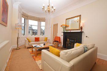 Thumbnail 2 bedroom flat to rent in Hillside Crescent, Hillside, Edinburgh