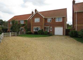 Thumbnail 4 bed detached house for sale in Hills Court, Hilgay, Downham Market