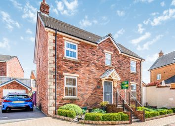 Thumbnail 4 bed detached house for sale in Clos Y Fferm, Coity, Bridgend