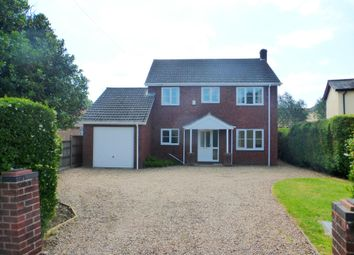 Thumbnail 4 bedroom detached house to rent in Norwich Road, Attleborough