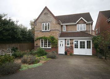 Thumbnail 5 bed detached house for sale in Bracken Drive, Attleborough