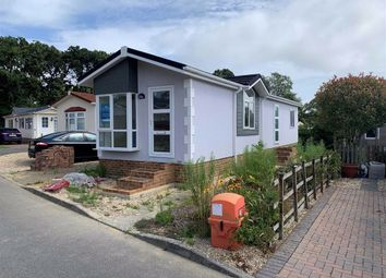Thumbnail 2 bed mobile/park home for sale in Woodlands Park, Stopples Lane, Hordle, Lymington