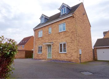Thumbnail 4 bedroom detached house for sale in Hansel Close, Peterborough