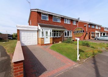 Thumbnail 3 bed semi-detached house for sale in Langmead Close, Walsall