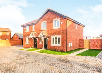 Thumbnail 3 bed semi-detached house for sale in Hicfield Road, Beck Row, Bury St. Edmunds