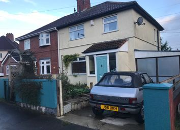 Thumbnail 3 bed semi-detached house for sale in Wordsworth Road, Horfield, Bristol