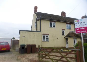 Thumbnail 3 bed semi-detached house for sale in East View, Walcott, Lincoln