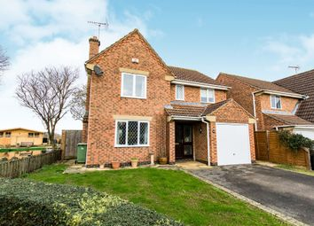 Thumbnail 4 bed detached house for sale in Somes Close, Uffington, Stamford