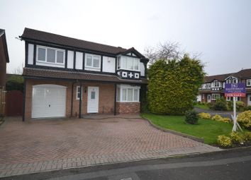 Thumbnail 5 bed detached house for sale in Penmark Close, Callands, Warrington