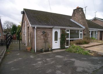 Thumbnail 2 bedroom semi-detached bungalow to rent in Linberry Close, Oakerthorpe, Alfreton, Derbyshire