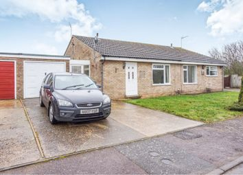 Thumbnail 2 bedroom semi-detached bungalow for sale in Windings Road, Ipswich