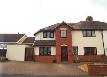Thumbnail 4 bedroom semi-detached house for sale in Foster Avenue, Hednesford, Cannock, Staffordshire