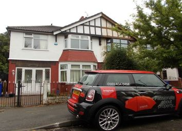 Thumbnail 4 bedroom property to rent in Park Drive, Whalley Range