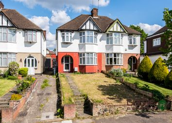Thumbnail 3 bed semi-detached house to rent in Upcroft Avenue, London