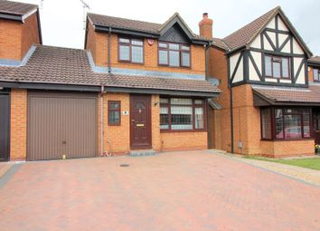 Thumbnail 3 bed link-detached house for sale in Warminster Close, Luton, Bedfordshire