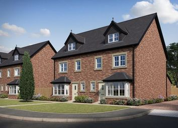 Thumbnail 4 bed semi-detached house for sale in Waterside Cottam Way, Cottam, Preston