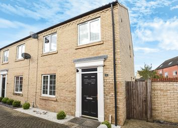 Thumbnail 3 bed semi-detached house for sale in Malden Way, St. Neots, Cambridgeshire