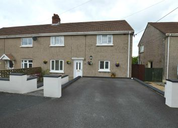 Thumbnail 3 bed semi-detached house for sale in Bron Yr Ynn, Drefach, Llanelli