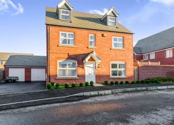 Thumbnail 5 bedroom detached house for sale in Carr Road, Moulton, Northampton