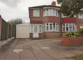 Thumbnail 3 bed semi-detached house for sale in Galloway Avenue, Birmingham