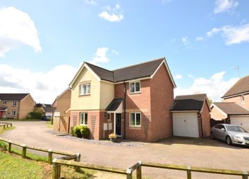 Thumbnail 3 bed detached house for sale in Monarch Close, Haverhill