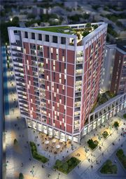 Thumbnail 2 bed flat for sale in Discovery Tower, Hallsville Quarter, Canning Town, London