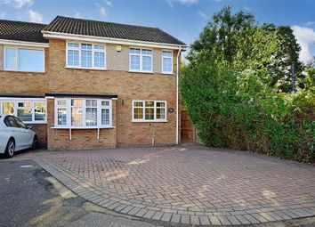Thumbnail 3 bed semi-detached house for sale in Courage Close, Hornchurch, Essex