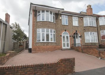 Thumbnail 3 bed end terrace house for sale in Clovelly Road, St. George, Bristol