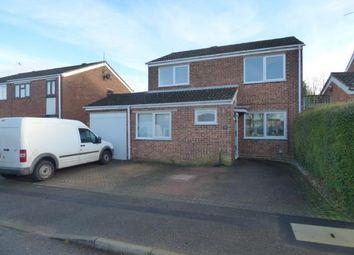 Thumbnail 4 bedroom detached house for sale in Keswick Road, Hanslope, Milton Keynes, Bucks