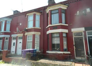 Thumbnail 3 bed terraced house for sale in Gloucester Road, Liverpool, Merseyside
