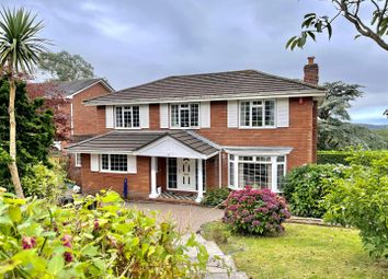 Thumbnail 4 bed detached house for sale in Earls Wood Drive, Plymouth