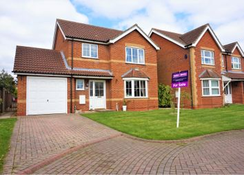 Thumbnail 3 bed detached house for sale in Bramble Way, Brigg